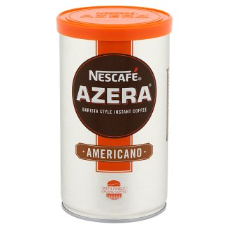 Nescafé Azera Americano Barista Style Instant Coffee with Finely Ground Coffee 100 g