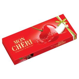 Mon Chéri csokoládépraliné egész szem cseresznyével likőrben 105 g