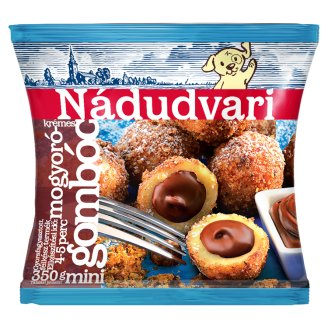 Nádudvari Quick-Frozen Hazelnut Cream Filled Dumplings 450 g
