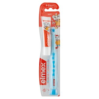 elmex Practicing Toothbrush and Toothpaste for Children 0-3 Years