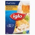Iglo Fish Cuisine gyorsfagyasztott halfilé ropogós sörtésztában 240 g
