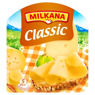 Milkana Classic Lactose-Free, Fat, Semi-Hard Sliced Cheese 100 g
