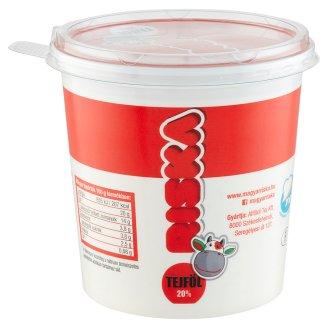 Riska Séf Sour Cream with Live Cultures 20% 1 kg