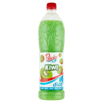 Pölöskei Diab Kiwi Flavoured Syrup with Sweetener 1 l