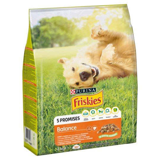 Friskies Vitafit Complete Food for Adult Dogs with Chicken and Vegetables 3 kg