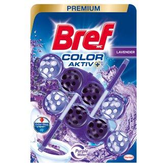 Bref Color Aktiv Lavender WC-frissítő 2 x 50 g