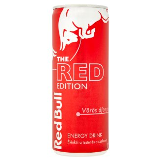 Red Bull The Red Edition Energy Drink with Red Berry Flavour 250 ml