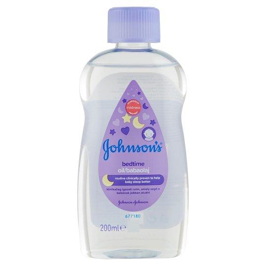 Johnson's Bedtime Baby Oil 200 ml
