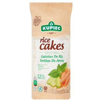 Kupiec Gluten-Free Unflavoured Puffed Rice Cakes 120 g