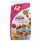Fit Reggeli Crunchy Muesli with Cranberry and Raspberry 200 g