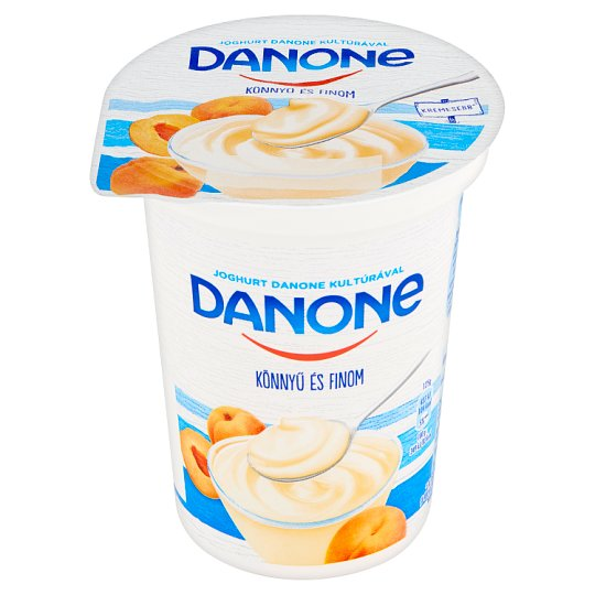 Danone Apricot Flavoured Low-Fat Yoghurt with Live Cultures 400 g