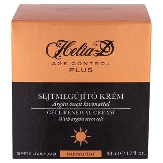 Helia-D Age Control Plus sejtmegújító nappali krém argán őssejt kivonattal SPF 12 UVA/UVB 50 ml