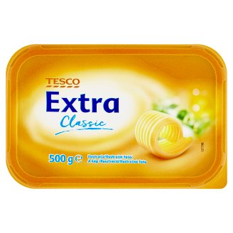 Tesco Extra Classic Semi-Fat Margarine 500 g