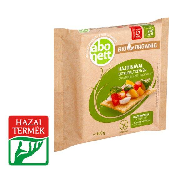 Abonett BIO gluténmentes extrudált kenyér hajdinával 100 g