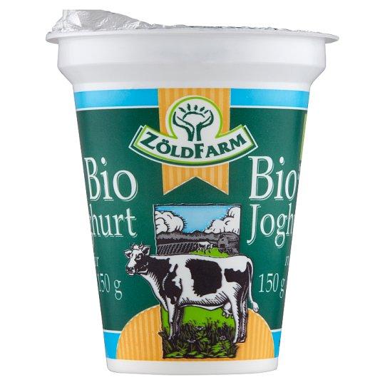 Zöldfarm BIO natúr joghurt 150 g