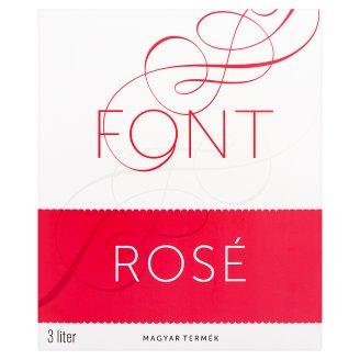 Font Kunsági Kékfrankos Rosé száraz rosebor 11,5% 3 l