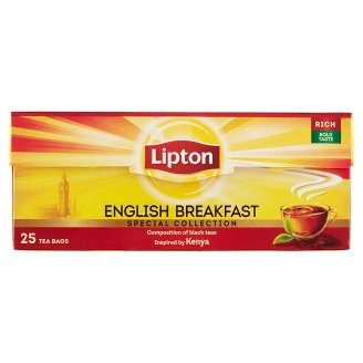 Lipton English Breakfast Black Tea 25 Tea Bags