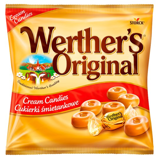 Werther's Original tejszínes töltetlen keménycukorka 90 g