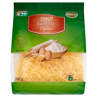 Tesco Angel Hair Dry Pasta with 8 Eggs 200 g