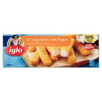 Iglo Quick-Frozen Crispy Batter Fish Fingers 12 pcs 336 g
