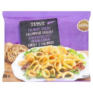 Tesco Quick-Frozen Squid Rings 200 g
