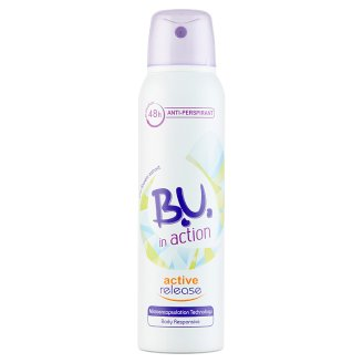 B.U. In Action Active Release izzadásgátló dezodor 150 ml