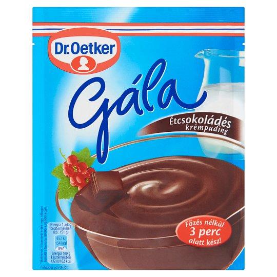 Dr. Oetker Gála étcsokoládés krémpudingpor 104 g