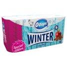 Ooops! Winter Apple-Cinnamon toalettpapír 3 rétegű 16 tekercs