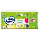 Zewa Deluxe Camomile Comfort illatosított papír zsebkendő 3 rétegű 90 db