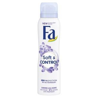Fa Soft & Control izzadásgátló deospray gyengéd illattal 150 ml