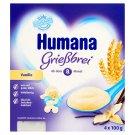 Humana vanília ízű grízpuding 8 hónapos kortól 4 x 100 g