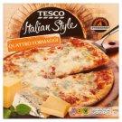 Tesco Italian Style Quattro Formaggi Quick-Frozen, Pre-Baked Pizza 320 g