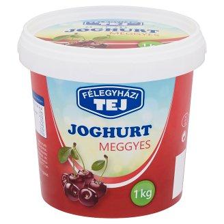 Félegyházi Tej Yoghurt with Sour Cherry 1 kg