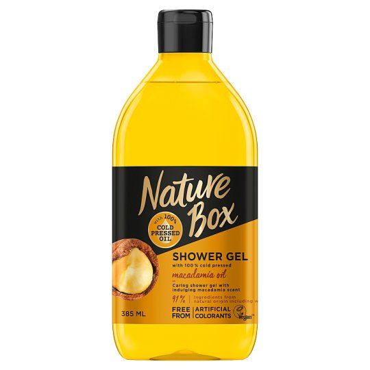 Nature Box Shower Gel with Cold Pressed Macadamia Oil 385 ml