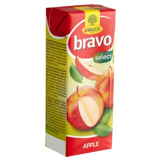 Rauch Bravo Apple Drink with Sugar and Sweeteners and Vitamin C 0,2 l