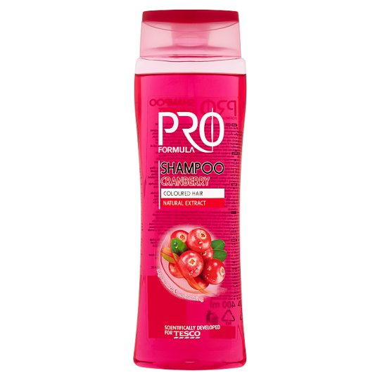 Tesco Pro Formula Cranberry sampon 400 ml