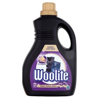 Woolite Darks, Black, Denim Liquid Detergent for Dark Clothes 33 Washes 2 l