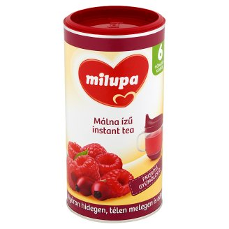Milupa málna ízű instant tea 6 hónapos kortól 200 g
