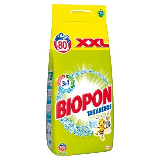 Biopon Takarékos Powder Detergent 80 Washes 5,6 kg