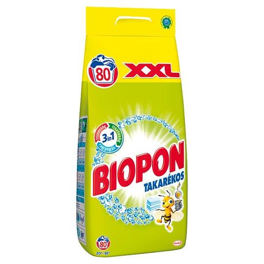 Biopon Takarékos mosószer por 80 mosás 5,6 kg