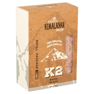 K2 Himalayan Table Salt Refill Package 500 g
