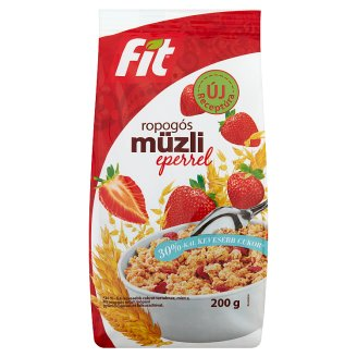Fit Reggeli Crunchy Muesli with Strawberry 200 g