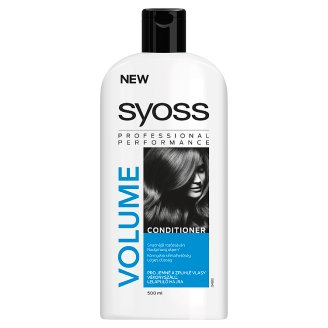Syoss Volume Collagen & Lift Conditioner for Thin, Weak Hair 500 ml