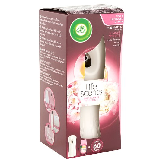 Air Wick Freshmatic Summer Delights Automatic Air Freshener Gadget and Refill 250 ml