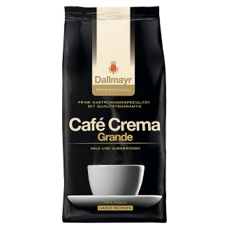 Dallmayr Professional Café Crema Grande Roasted Coffee, Whole Beans 1000 g