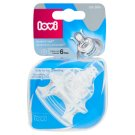 Lovi Dynamic Teat Soother 6+ Months 2 pcs