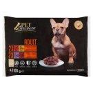 Tesco Pet Specialist Premium teljes értékű állateledel felnőtt kutyáknak 2 ízben 4 x 100 g