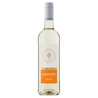Ostorosbor Felső-Magyarországi muskotály félédes fehérbor 11% 750 ml