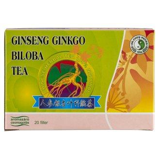 Dr. Chen Patika Ginseng Ginkgo Biloba Green Tea Food Supplement 20 Tea Bags 60 g