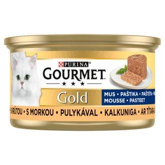 Gourmet Gold Paté Wet Cat Food with Turkey 85 g